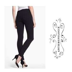 Anthropologie Sanctuary black tailored leggings M